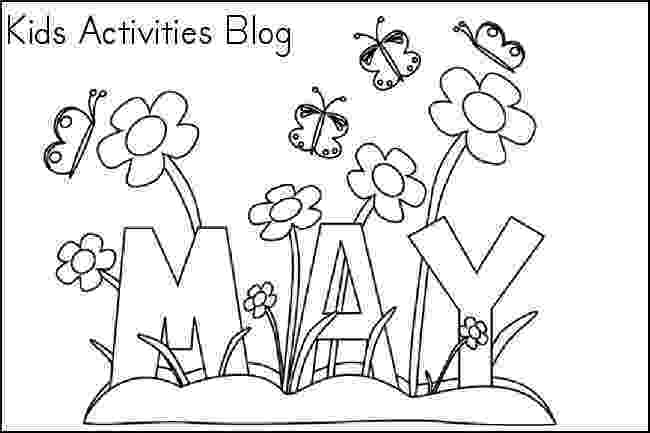 may coloring pages 20 free printable april coloring pages coloring pages may