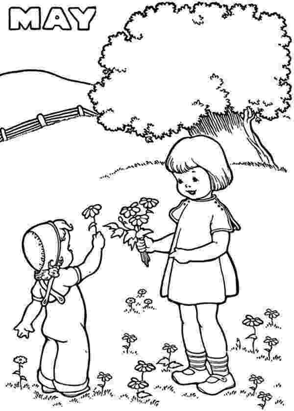may coloring pages free printable may coloring pages coloring may pages