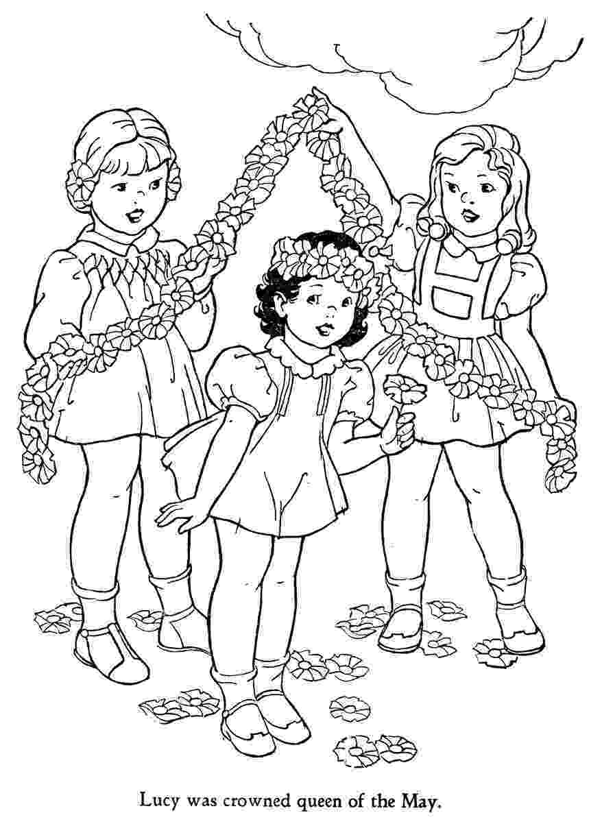 may coloring pages happy may day q is for quilter coloring may pages