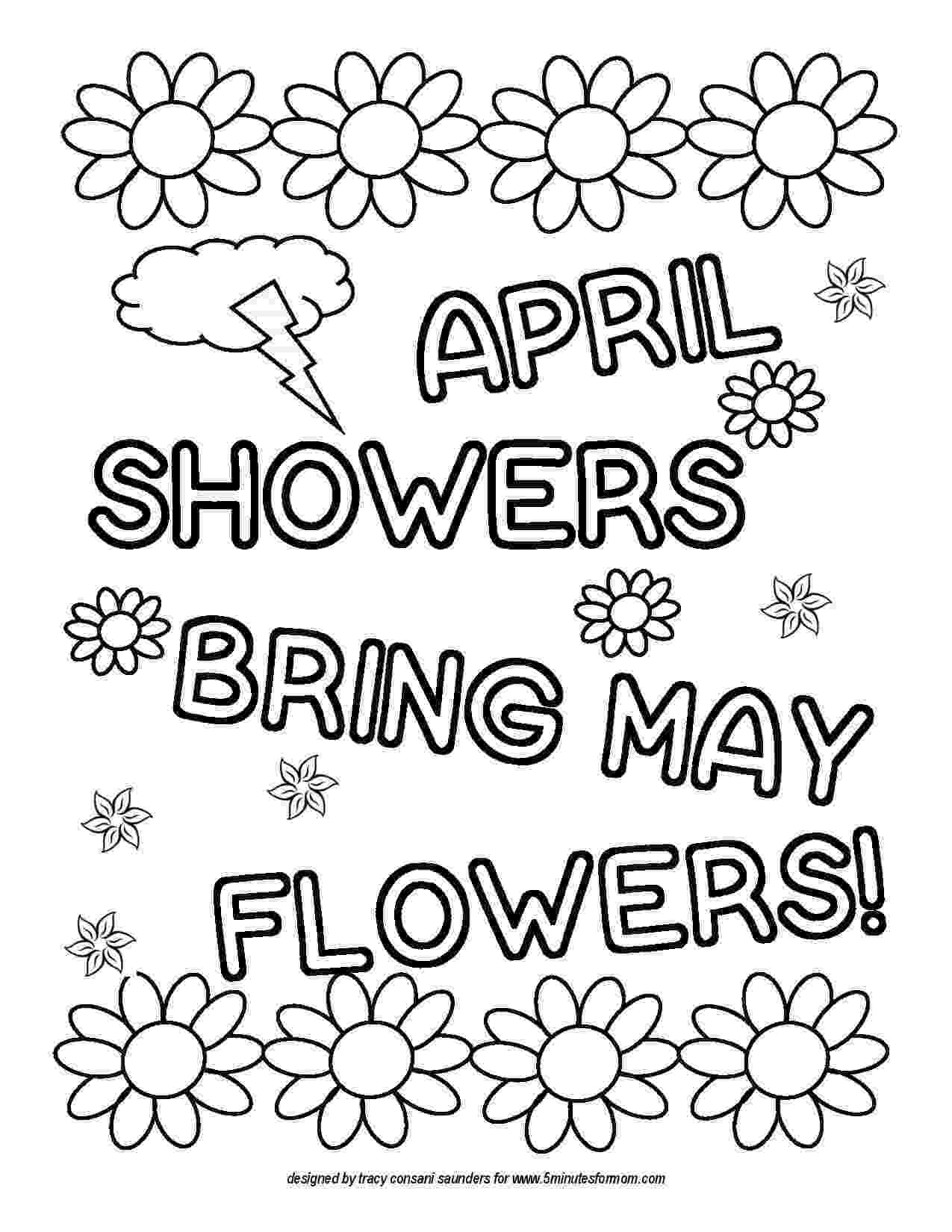 may coloring pages spring coloring page may pages coloring