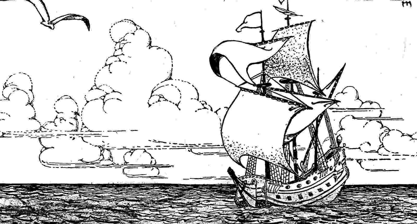 mayflower coloring page free printable mayflower coloring pages 1st grade ideas mayflower coloring page