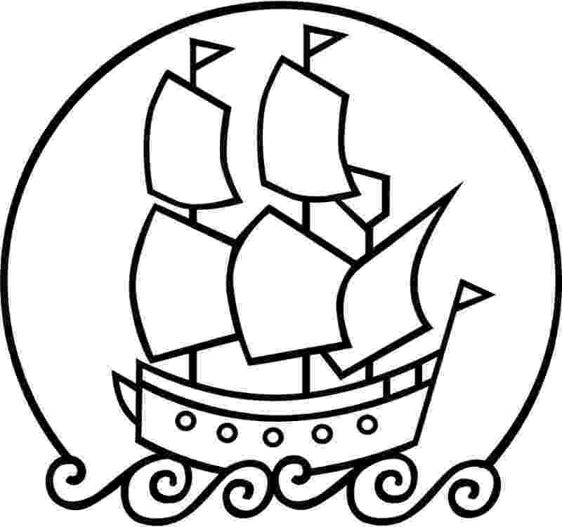 mayflower coloring page mayflower ship drawing at getdrawingscom free for coloring page mayflower