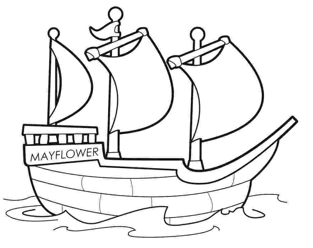 mayflower coloring page mayflower thanksgiving coloring pages coloring mayflower page