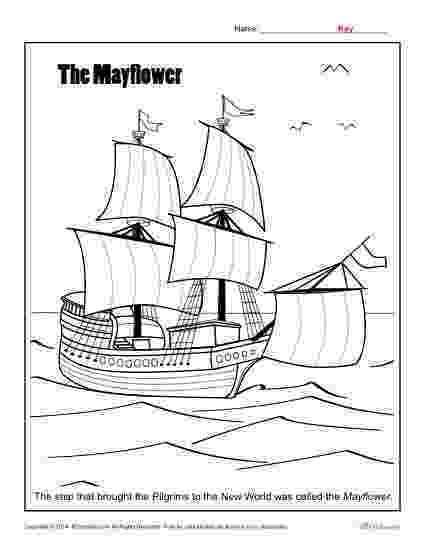 mayflower coloring page printable boat coloring pages for kids cool2bkids mayflower coloring page