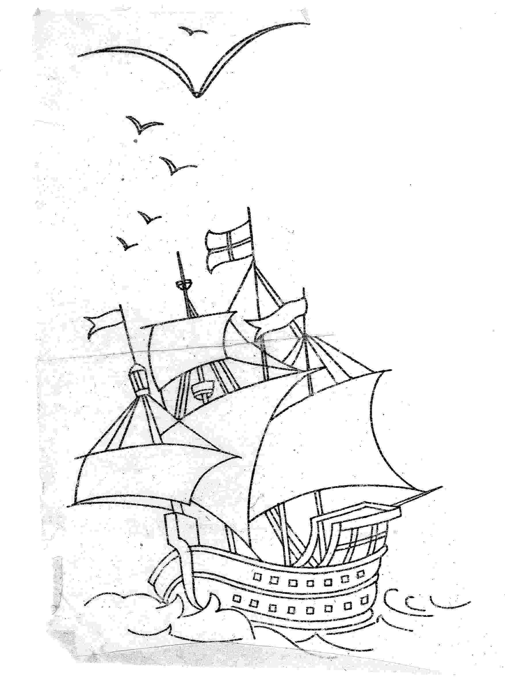mayflower coloring page thanksgiving coloring pages giggletimetoyscom mayflower page coloring