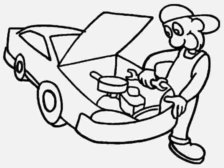 mechanic coloring pages mechanics coloring pages getcoloringpagescom coloring pages mechanic