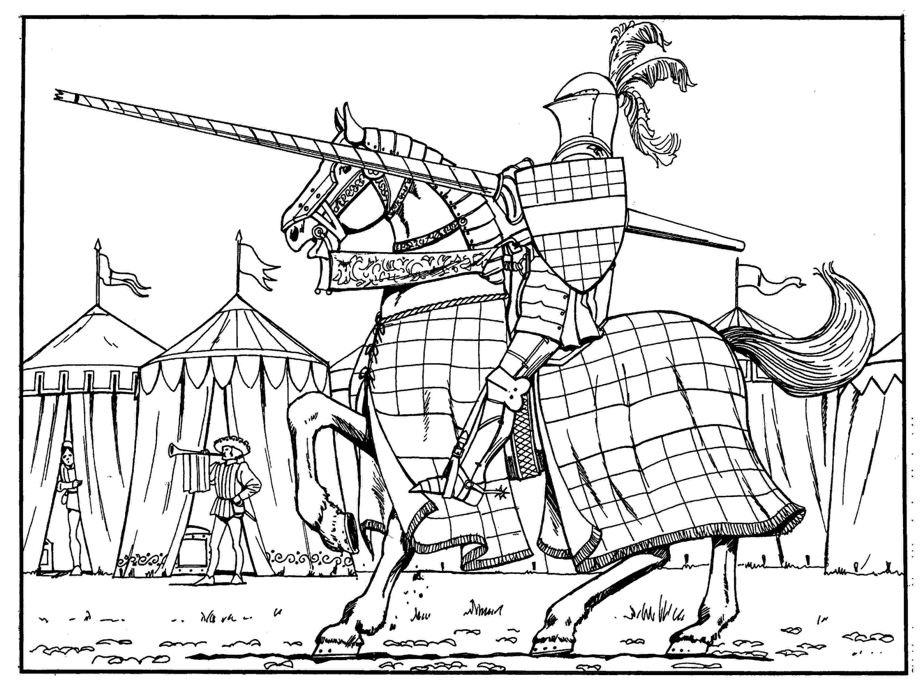 medieval colouring pages coloring pages about the middle ages medievalistsnet pages medieval colouring
