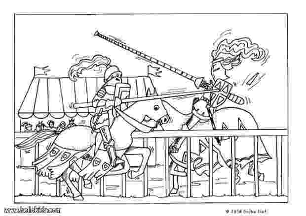 medieval colouring pages medieval fight coloring pages hellokidscom colouring medieval pages