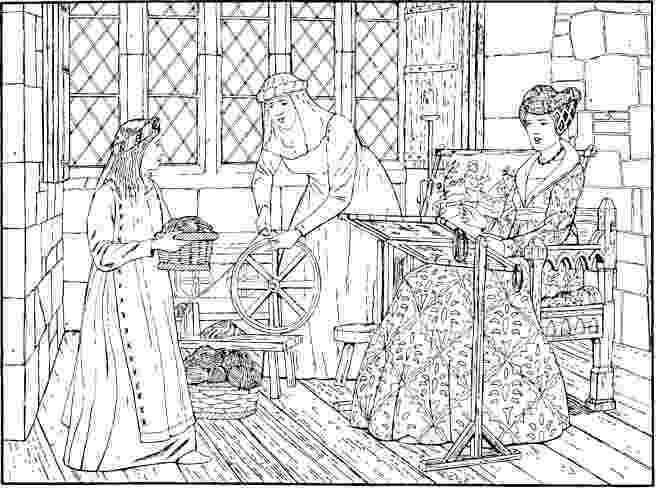 medieval colouring pages medieval women coloring pages medieval fortress in colouring medieval pages