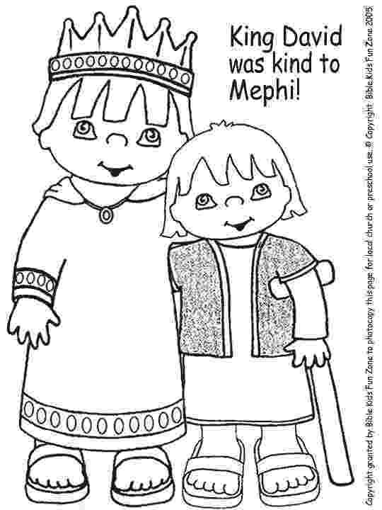 mephibosheth coloring page 7 best da vit va me phi bo set images on pinterest bible page mephibosheth coloring