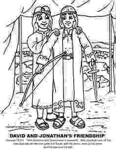 mephibosheth coloring page david and mephibosheth coloring sheet david jonathan mephibosheth coloring page