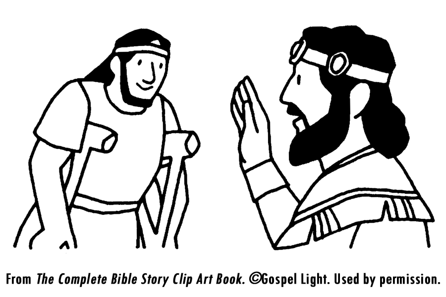 mephibosheth coloring page david helps mephibosheth mission bible class page mephibosheth coloring