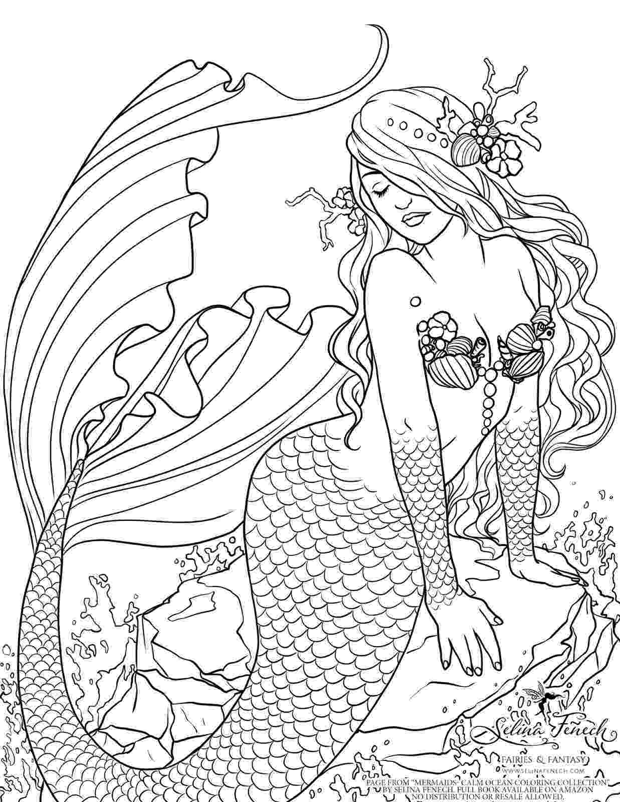 mermaid coloring 30 stunning mermaid coloring pages coloring mermaid