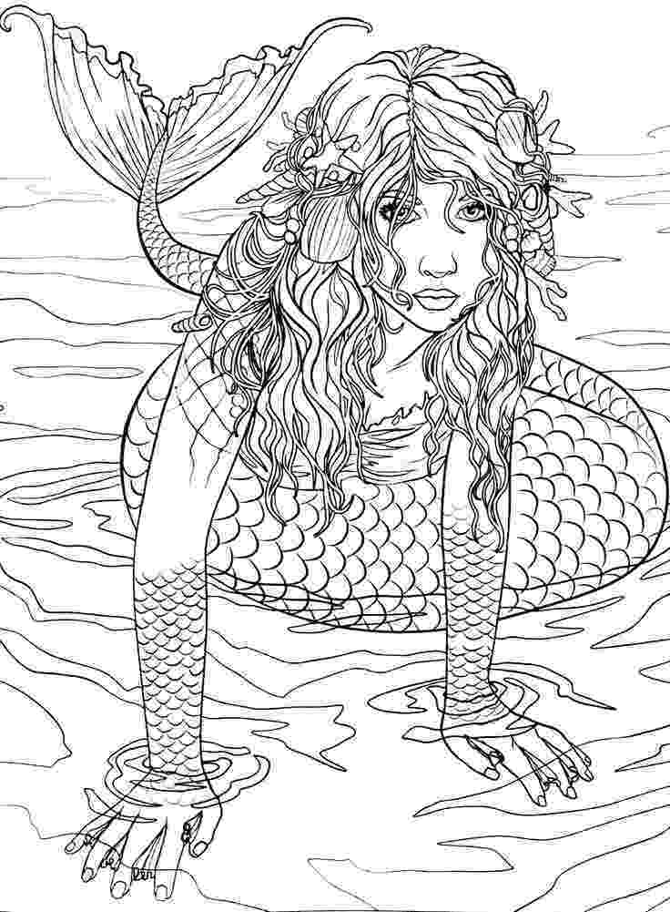 mermaid coloring pages for adults 11 best random coloring pages unusual and interesting coloring mermaid adults pages for