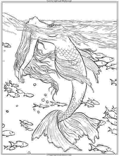 mermaid coloring pages for adults 17 best images about kewl my time coloring art on coloring pages for adults mermaid