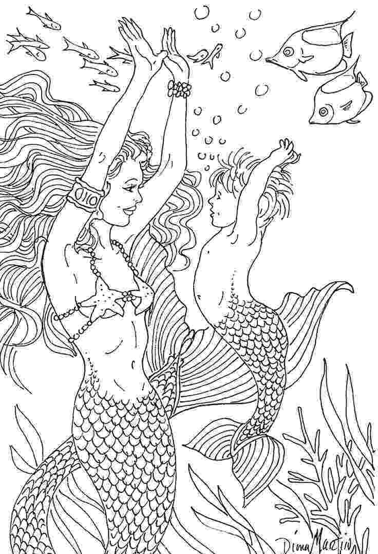 mermaid coloring pages for adults 31 best images about coloring pages on pinterest legends mermaid coloring for adults pages