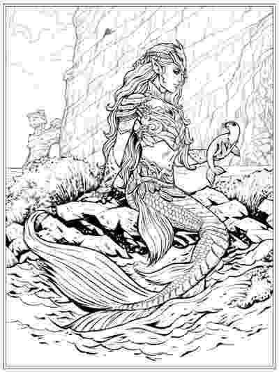 mermaid coloring pages for adults best mermaid coloring pages coloring books cleverpedia for mermaid pages coloring adults