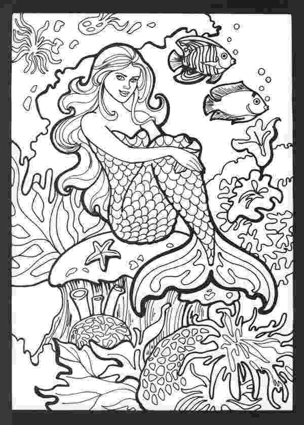 mermaid coloring pages for adults mermaid coloring page mermaid coloring pages for adults coloring adults for mermaid pages
