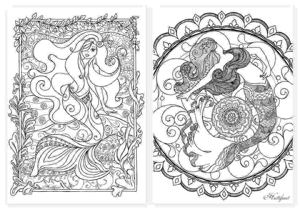 mermaid coloring pages for adults mermaid coloring pages for adults best coloring pages coloring pages for adults mermaid