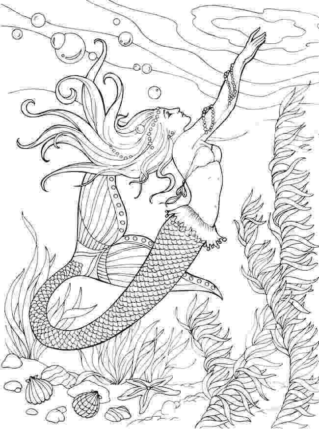 mermaid coloring sheets mermaid coloring pages for adults best coloring pages sheets coloring mermaid