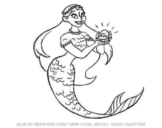 mermaids to draw how to draw a cartoon mermaid step by step mermaids to mermaids draw