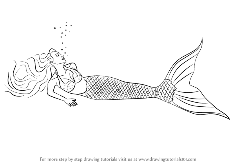 mermaids to draw how to paint a mermaid art easy canvas painting step draw mermaids to