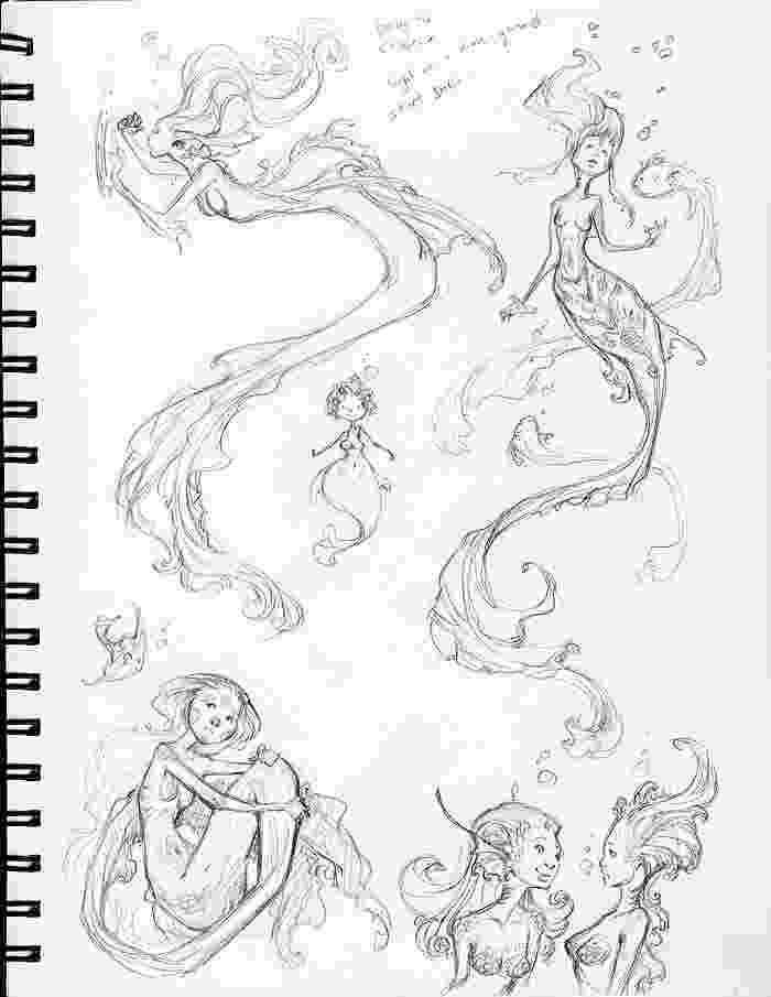 mermaids to draw learn how to draw a mermaid in water mermaids step by mermaids to draw