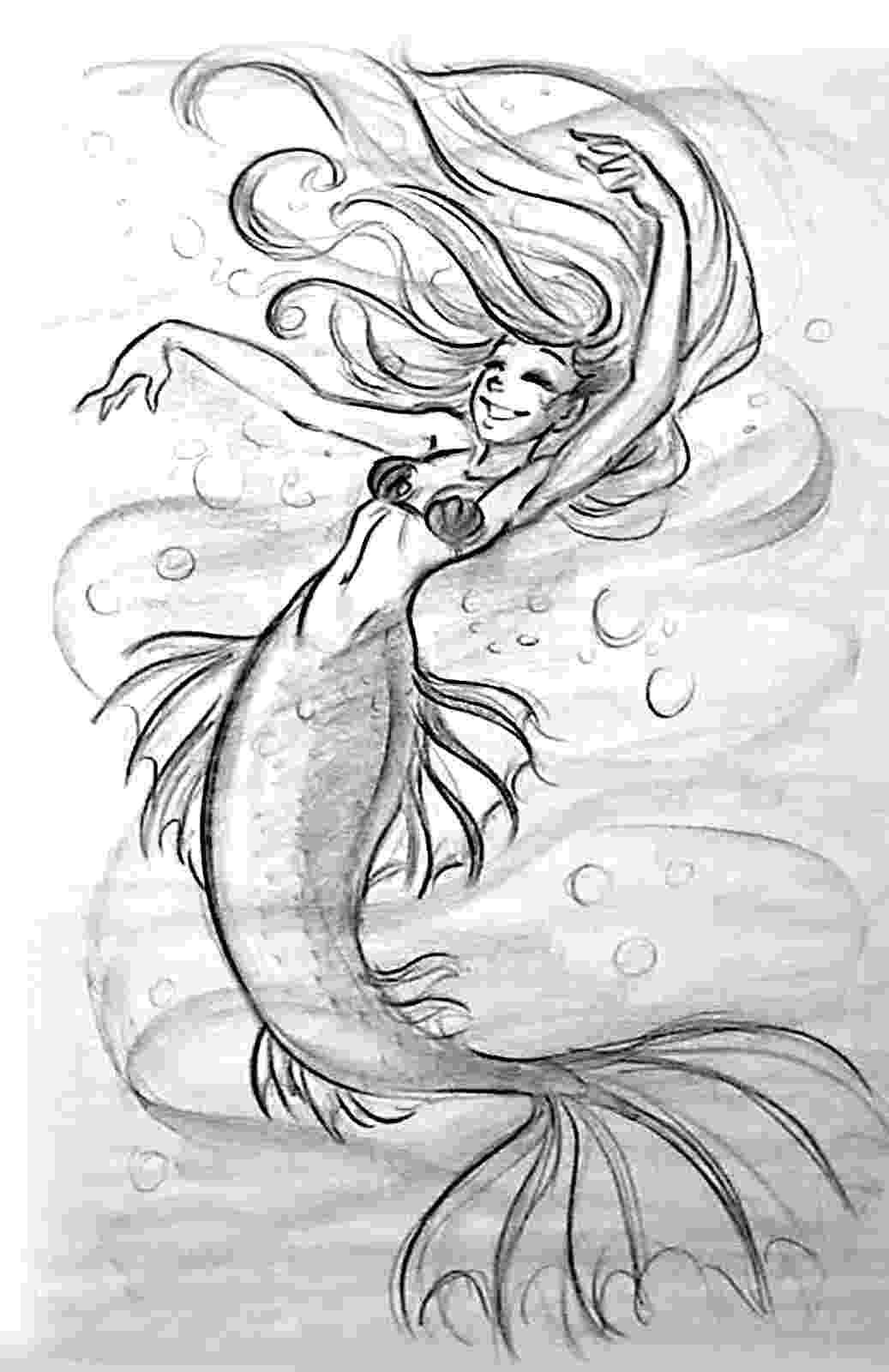 mermaids to draw tiffanny39s sketchbook april 2013 mermaids draw to