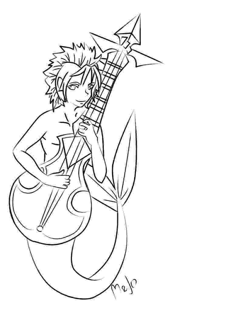 merman coloring pages myde the merman by bloodyamore on deviantart pages coloring merman