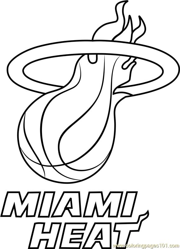 miami heat coloring sheets miami heat coloring page nba teams coloring pages coloring heat sheets miami