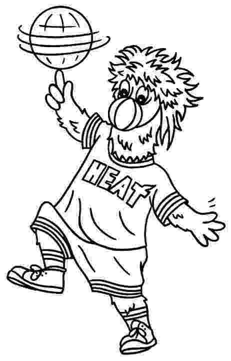 miami heat coloring sheets miami heat coloring pages at getcoloringscom free miami sheets coloring heat