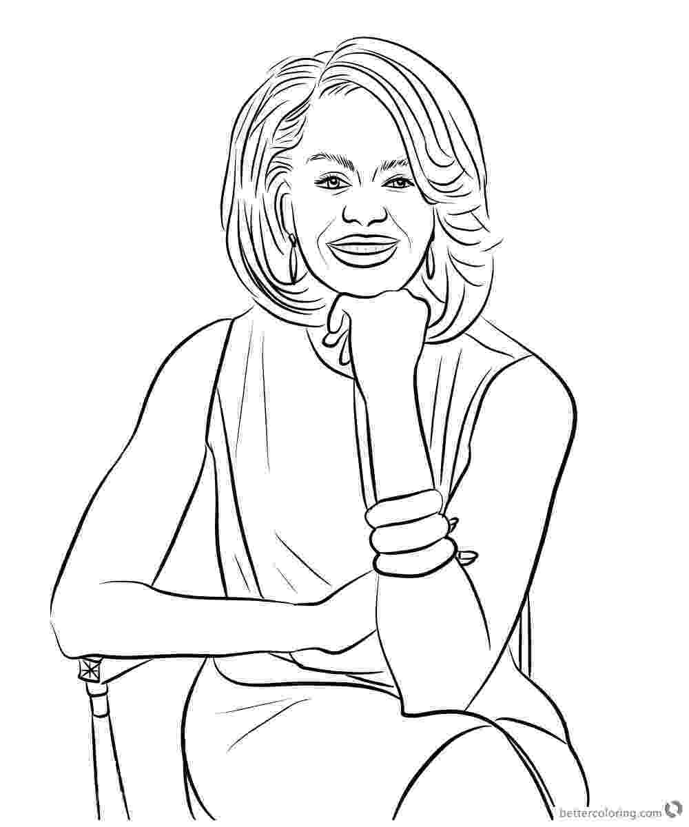 michelle obama coloring pages michelle obama coloring page sitting on a chair free michelle coloring obama pages