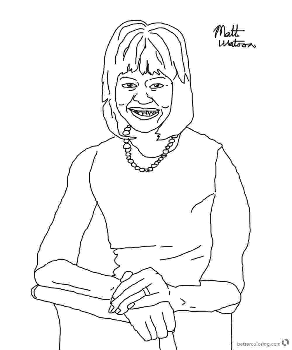 michelle obama coloring pages michelle obama coloring page sketch by matthwatson free obama coloring michelle pages