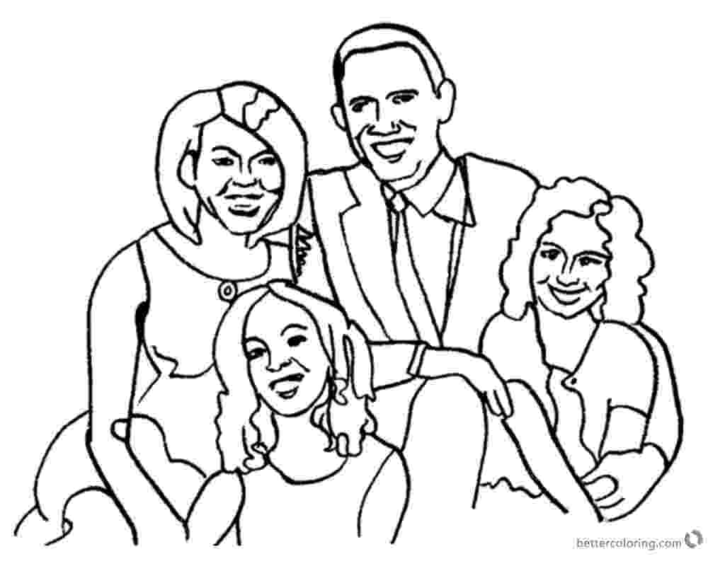 michelle obama coloring pages michelle obama coloring pages az sketch coloring page michelle pages coloring obama