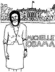michelle obama coloring pages michelle obama coloring pages az sketch coloring page obama michelle pages coloring