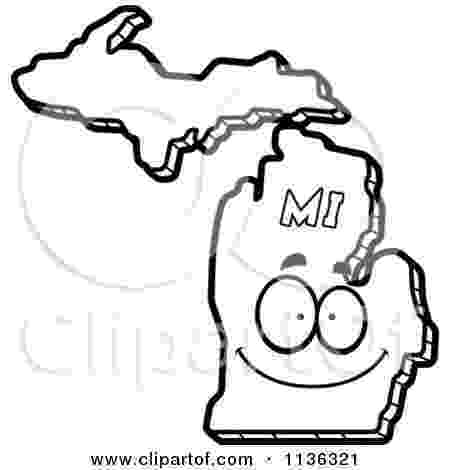 michigan state flag coloring page michigan state outline coloring page copy the image and flag page michigan state coloring