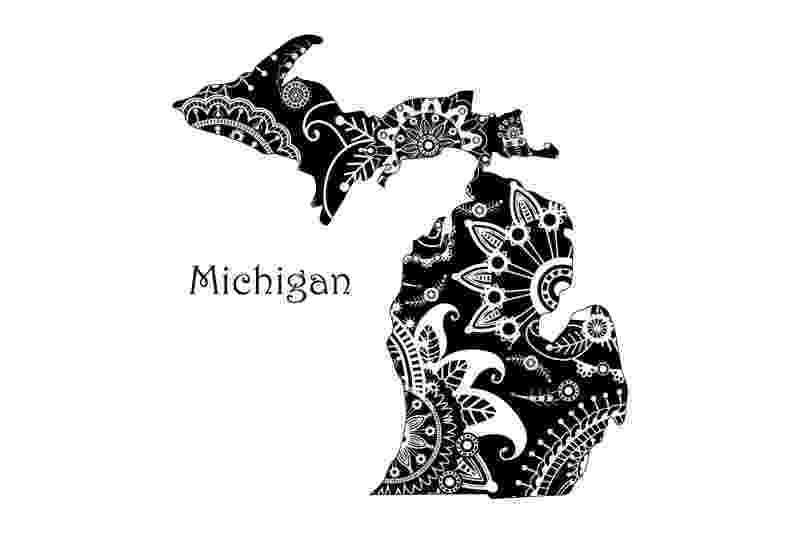 michigan state flower 50 state flowers coloring pages for kids flower michigan state