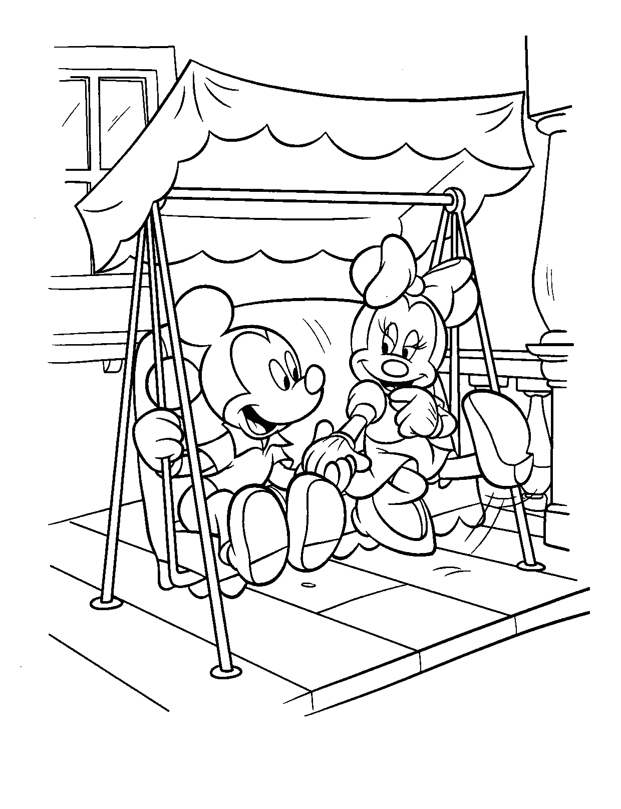 mickey and minnie colouring pages baby disney coloring pages to download and print for free colouring pages mickey and minnie