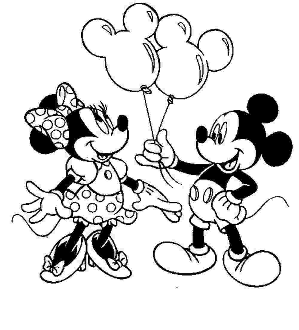 mickey and minnie colouring pages free disney minnie mouse coloring pages mickey minnie pages colouring and