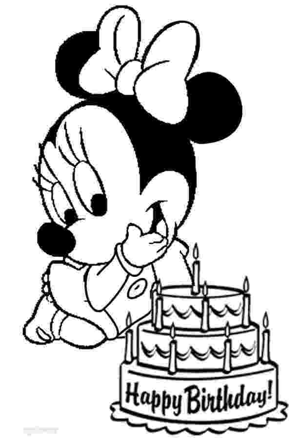 mickey mouse birthday coloring pages minnie mouse birthday pictures free download on clipartmag pages mickey birthday coloring mouse