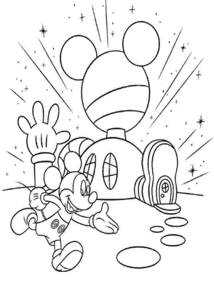 mickey mouse clubhouse coloring sheets disney coloring pages clubhouse mickey sheets mouse coloring