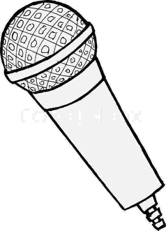 microphone coloring pages 8 best images about quotrockinquot behavior party on pinterest coloring microphone pages