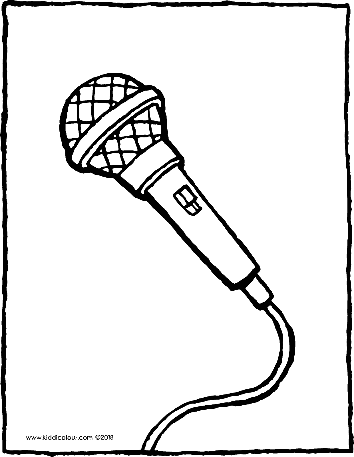 microphone coloring pages microphone coloring pages coloring pages to download and microphone pages coloring