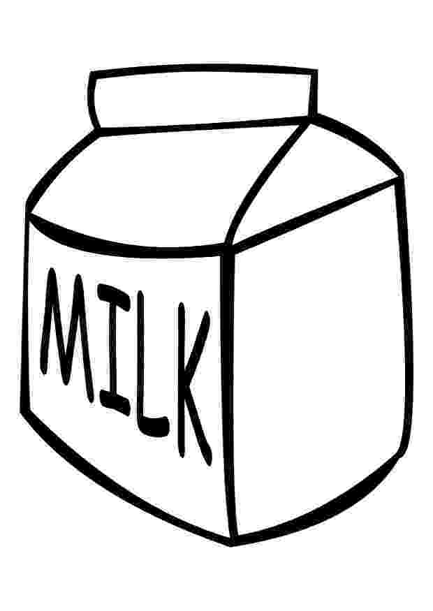 milk coloring pages breakfast coloring pages crafts and worksheets for coloring milk pages