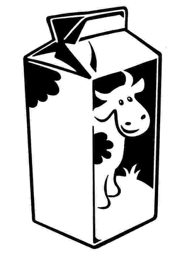 milk coloring pages carton of milk drawing at getdrawingscom free for coloring pages milk