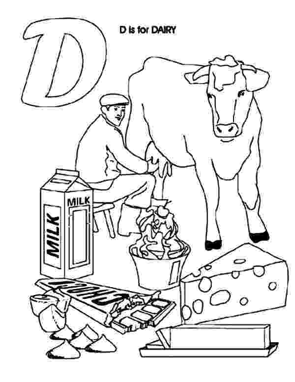 milk coloring pages dairy cow netart pages coloring milk