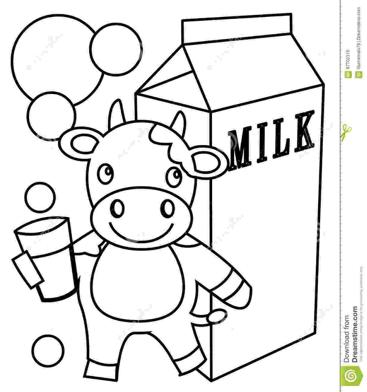 milk coloring pages milk coloring page stock illustration illustration of pages milk coloring