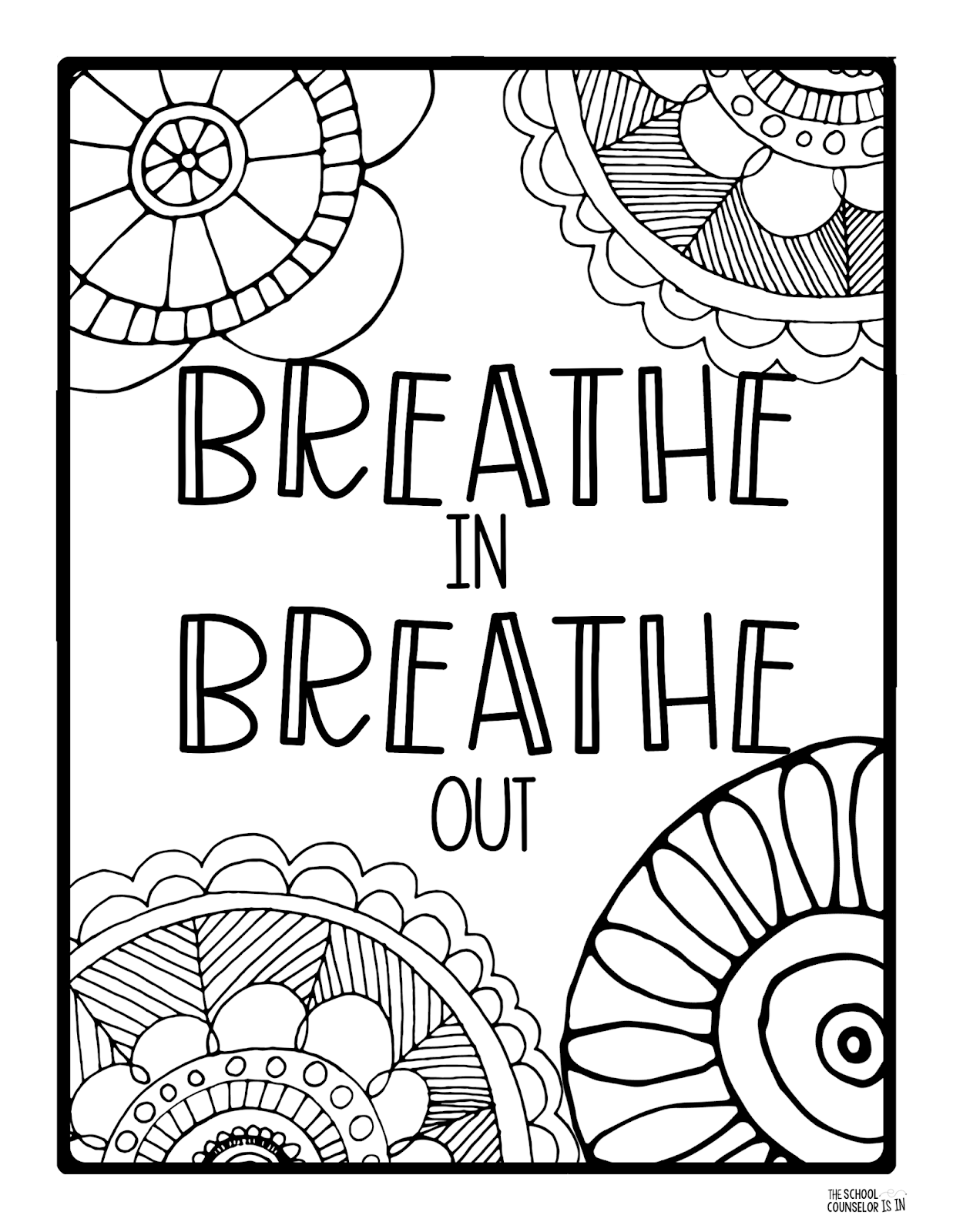mindfulness colouring pages the school counselor is in mindfulness coloring sheets pages colouring mindfulness