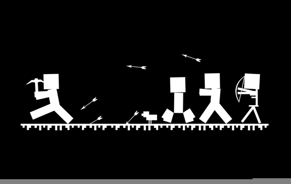 minecraft black and white pictures minecraft clipart black and white free images at clker minecraft black white pictures and