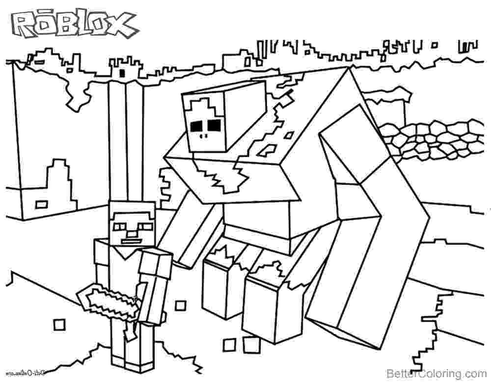 minecraft black and white pictures minecraft of roblox coloring pages black and white free pictures and black minecraft white
